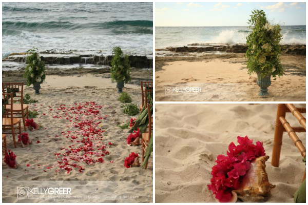 Beach-Wedding- Topiary