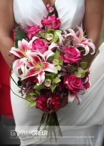 stargazers, roses & cymbidium orchids