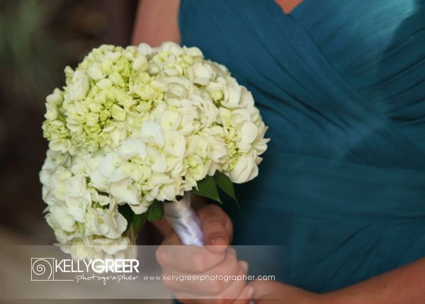 Williams: Bridesmaid Bouquet {Hydrangea}