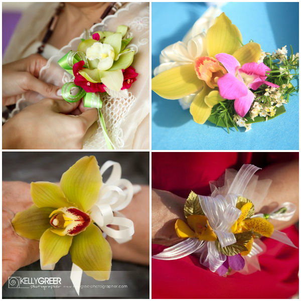 Tropical Corsages